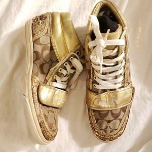 Coach authentic high top